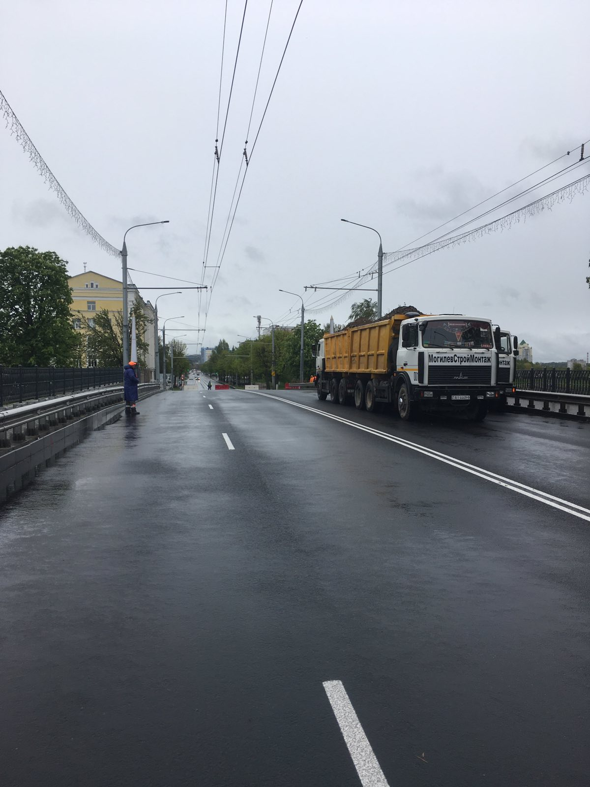 Испытания путепровода по ул. Первомайская